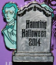 Disney Haunted Mansion Haunting Halloween Ghost And Bride 2014 LE Pin
