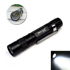 Small Pocket Torch Black Mini Medical Pen Light Portable LED Flashlight
