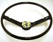 1968 1969 Ford Mustang Steering Wheel (Black) 68 69