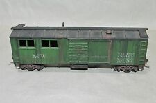 HO scale Train Miniature MOW MW work bunk box car train