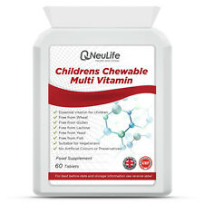 Childrens Chewable Multi Vitamins - 60 Tablets