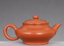 Superb Rare Chinese Yixing ZiSha Pottery Used Teapot Marked MengChen NA309