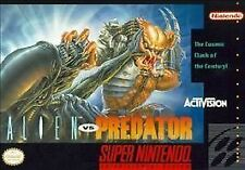 ***ALIEN VS PREDATOR SNES SUPER NINTENDO GAME COSMETIC WEAR~~~