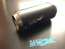 Pipe Werx BMW S1000XR 2015 Onwards Satin Carbon Fiber WERX GP Exhaust Can UK SL