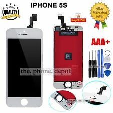 For White iPhone 5S LCD Screen Replacement Touch Display Digitizer Glass Lens UK