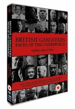 BRITISH GANGSTERS (Faces of Underworld) Stagioni 1-2 4DVD in Inglese NEW .cp