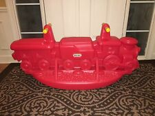 Vintage VHTF- Little Tikes Garden Train Rocker Child / Kid 1-3 Persons RARE