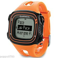 Neu Garmin Forerunner 10 GPS Sport Laufuhr mit Virtuell Pacer-Orange/Schwarz