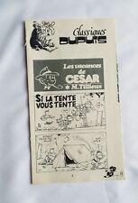 BD - Supplement Spirou n° 1999 Les vacances de Cesar / Maxi récit / TILLIEUX