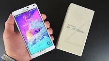 Unlocked New Samsung Galaxy Note 4 32GB N910A White Straight Talk T Mobile AT&T