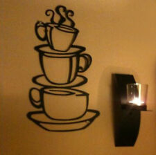 DIY Decor Mural Kitchen Coffee House Cup Decal Removable Wall Sticker Art Vinyl