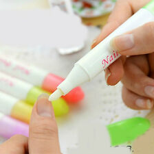 1PCS Nail Art Polish Remover Pen Varnish Corrector Cleaner + 3 Tips Pen Point