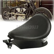 Motorcycle Leather Seat Solo Springs Bracket Seat Base Sportster Chopper Custom