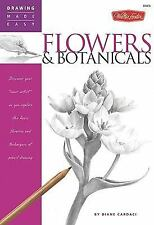 Flowers & Botanicals (Drawing Made Easy)-ExLibrary