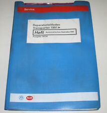 Werkstatthandbuch VW Transporter T4 Automatisches Getriebe 098 Stand April 1994!