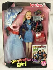 NIB Stunning Barbie Generation Girl Barbie Doll 19428 With Stand