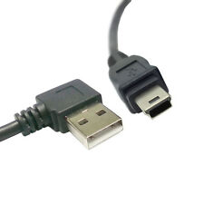USB 2.0 A type Male right Angled 90 degree to USB Mini B Male data cable 50cm