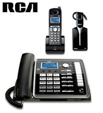 RCA 25270RE3 Visys 2 Line Corded Cordless Combo with Headset Phone Set Office