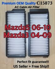 CABIN AIR FILTER Fit 04 05 06 07 08 09 Mazda3 Mazda5 Premium Quality C15873!!