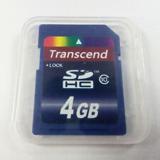 Transcend 4GB Class 10 SDHC Memory Card 4 GB Doppelpack SD HC TS4GSDHC10 4G