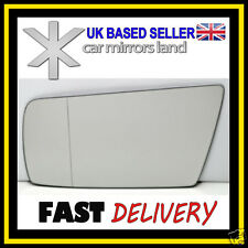 Left Passenger Side Wing Mirror Glass  MERCEDES C-Class W202 93-00 Blind Spot