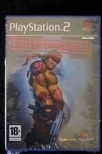 PS2 : STATE OF EMERGENCY 2 - Nuovo, risigillato ! Unisciti alla gang !