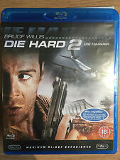 Bruce Willis Franco Nero DIE HARD 2: DIE HARDER ~ 1990 Action Classic UK Blu-ray