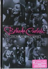 BELINDA CARLISLE * LIVE FROM METROPOLIS STUDIOS * UK SIGNED LTD DELUXE DVD/CD