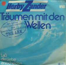 """7"""" 1978 CV GERRY RAFFERTY RARE! HERBY ZANDER : Träumen mit den Wellen"""