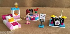3939 Lego Complete  Mia's Bedroom friends minifigure bed furniture room