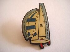PINS RARE VINTAGE MARINS POMPIERS MARSEILLE CHALLENGE FIRST CLASS 8 BOAT wxc 32