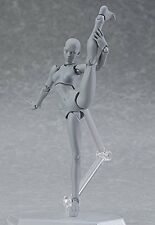 Figma Max Factory Archetype Next she Gray Color Ver Action Figure Japan Import