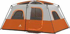 Ozark Trail 8 Person 2 Room Cabin Tent Large Camping Hiking Outdoor Easy Set Up