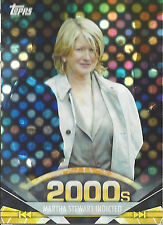 2011 Topps American Pie Spotlight 2000s Martha Stewart Indicted 31/76