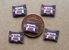 A Single 1:12 Empty Pouch Of Old Hoborn Cigarette Tobacco Dolls House Miniature
