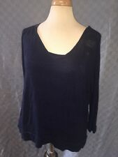 FOREVER 21 XXI DOUBLE TANK  Tunic Blouse Top Size LARGE