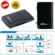 New External LCD TV PC Box Analog Program Receiver Tuner HDTV 2Y