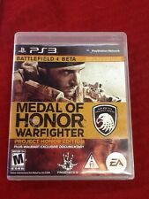 Medal of Honor: Warfighter Project Honor Edition (PlayStation 3, PS3)