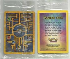 Pokemon Card - ANCIENT MEW SEALED MEw Promo Movie Double Holo Foil Rare