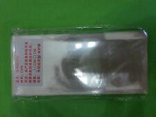 Plastic sleeves for paper money, 100pcs, Size : 7.5x17.5cm **OPP保护袋 护币袋 纸币袋**