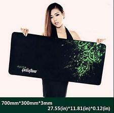 700*300*3MM Rubber Razer Goliathus Mantis Control Game Mouse Pad Mat Large XL+.
