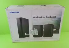 Samsung SWA-8000S 2.0 Surround 160W Wireless Rear Speaker Kit / New -Open Box