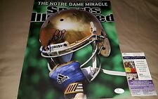 Manti Te'o Signed SI 11x14 image in person JSA CERTIFIED