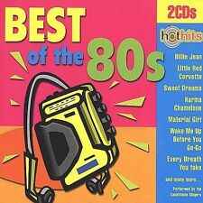 Hot Hits Best Of The 80s CD