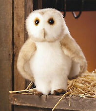 *NEW* PLUSH SOFT TOY Folkmanis 2261 Barn Owl Full Body Hand Puppet - 32cm