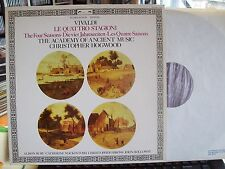 VIVALDI  The Four Seasons  HIRONS | BURY | HOLLOWAY | MACKINTOSH | HOGWOOD -  LP