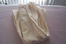 Vtg 100% Natural Cream Jersey Cotton 4 DOLL UNDIES SOCKS 1 Yard