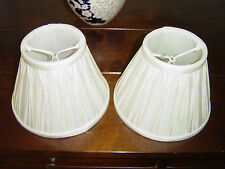 "One Pair of Laura Ashley Home Candle Clip Lamp Shades 5"" x 7"""