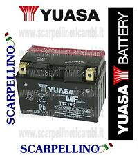 BATTERIA YUASA TTZ10S PER KYMCO PEOPLE S L 200 cc DAL 2007 -BATTERY