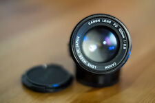 [MINT] Canon FD Portrait Prime Lens 1:2.8/100mm (SSC-coated) with Original Caps
